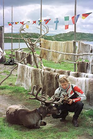 Im Rentierzüchter-Camp / Norwegen (1995)