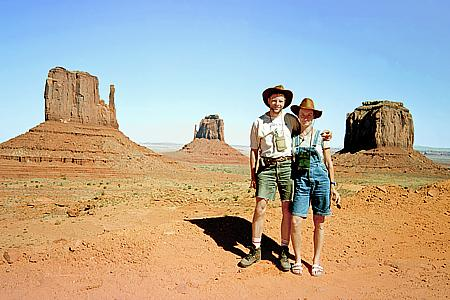 Im Monument Valley / Arizona / USA (1998)